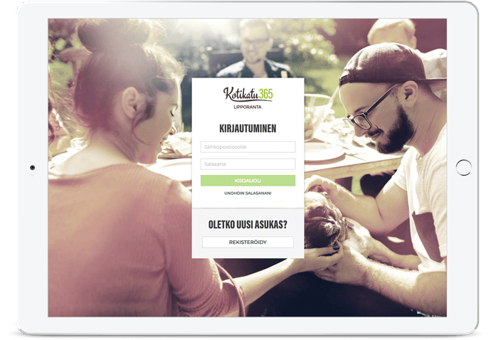 kotikatu365 login page view
